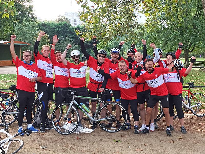 Palace to palace bike ride