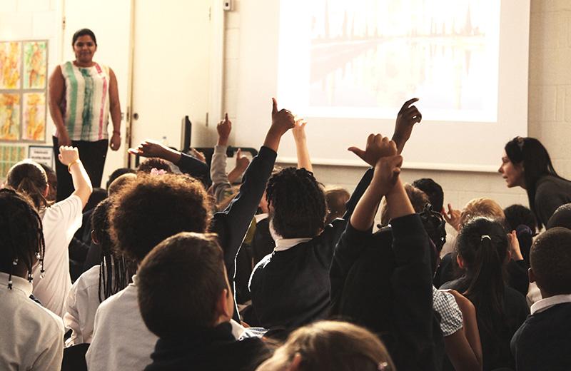 Careers seminar to keir hardie primary school pupils